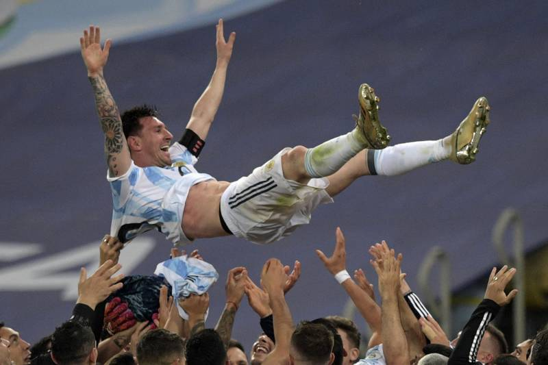 Messi ends trophy drought as Argentina beat Brazil to win Copa