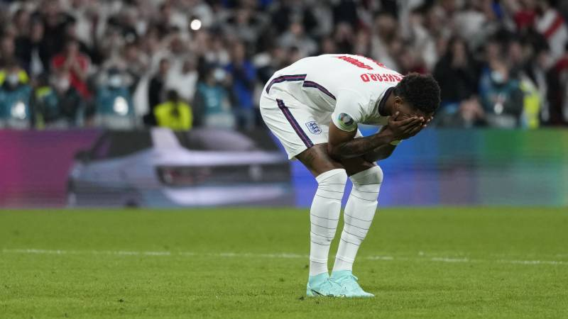 England penalty-takers hit by 'disgusting' racist abuse
