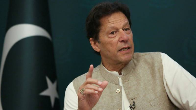 Pakistan stands with Kashmiris in their just struggle: PM Imran