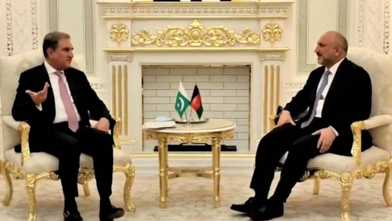 Pak-Afghan FMs discuss measures for peace in Afghanistan