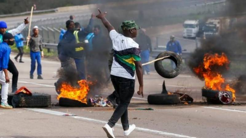 Death toll in S.Africa unrest climbs to 45 after Soweto looting stampede