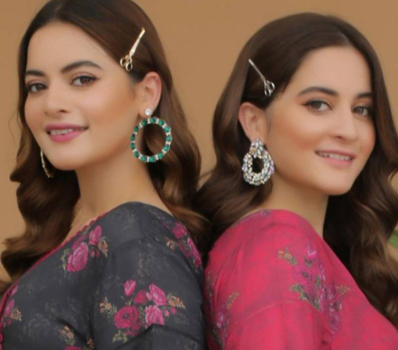 Aiman Khan, Minal Khan accused of CHEATING in Eid Collection of Aiman Minal Closet