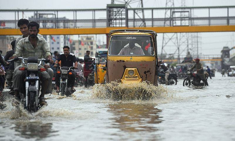 Sindh government imposes rain emergency