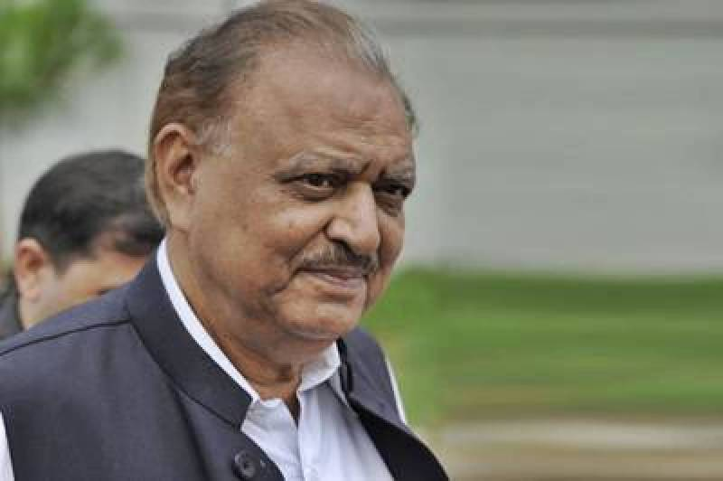Funeral of ex-president Mamnoon Hussain will be offered today