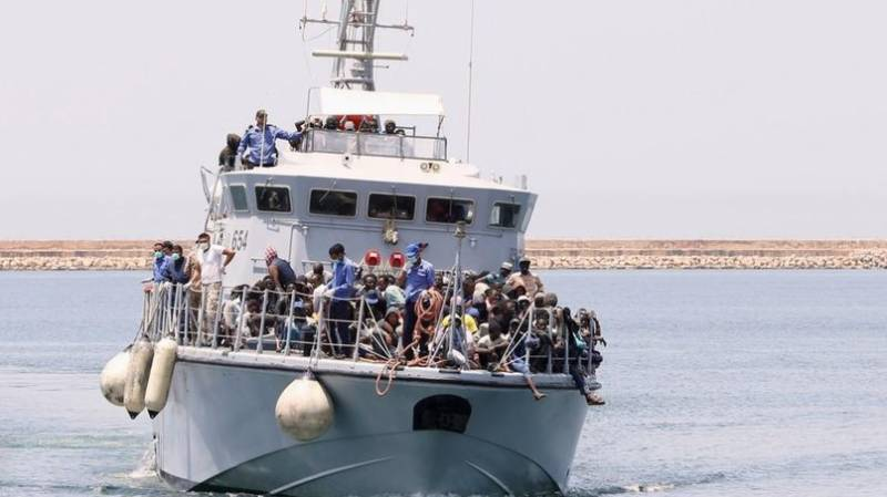 Morocco navy rescues over 300 migrants bound for Europe