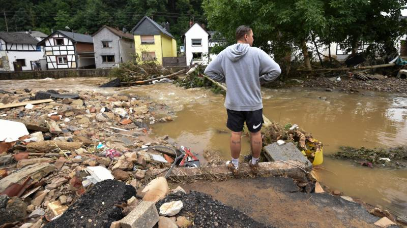 Floods leave at least 126 dead in Europe