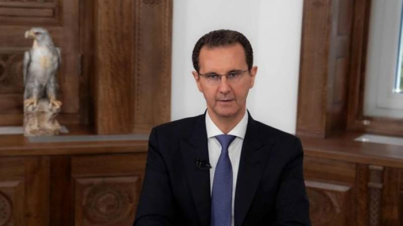 Syria's Assad takes oath after criticised re-election