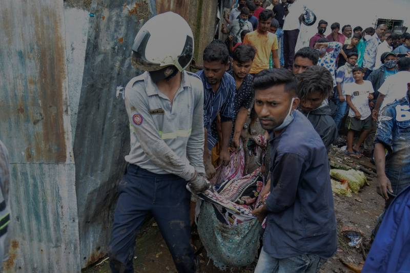 23 killed in landslide, wall collapse in India monsoon rains