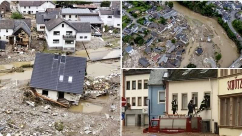Flood death toll rises to 165 in Germany