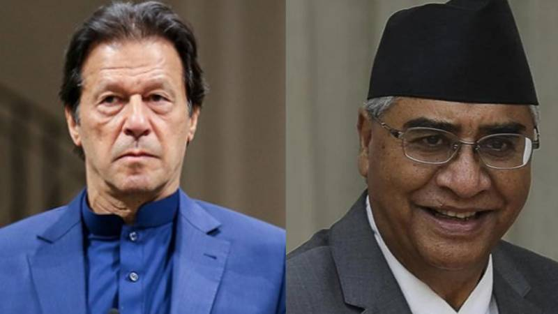PM Khan felicitates Nepalese counterpart on winning vote of confidence