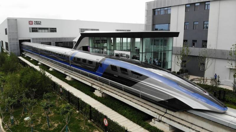 World's first 600 km/h maglev train rolls off assembly line in China