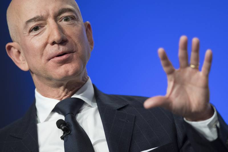 Bezos ready to blast off his own rocket to space today