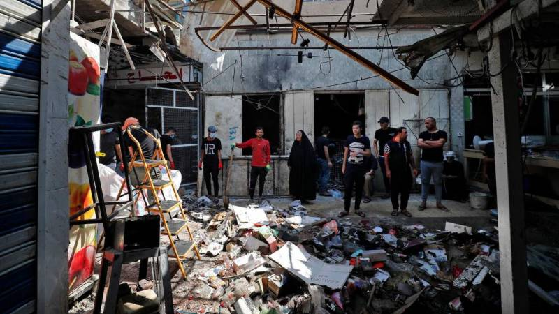 Iraq reels as 36 killed in IS suicide blast on eve of Eid festival