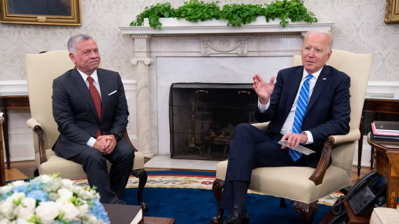 Calling US inflation 'temporary,' Biden pushes more spending