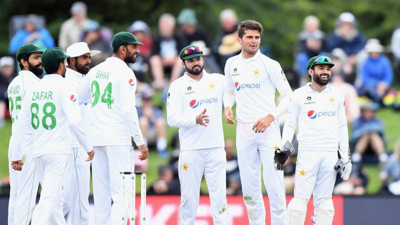 Pakistani cricketers leave UK for West Indies