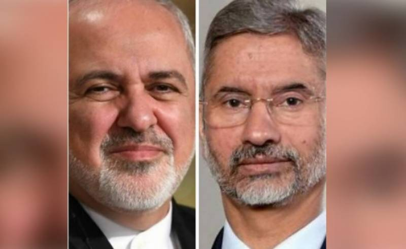 Iran, India foreign ministers discuss Afghanistan