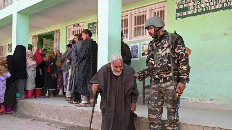Army deployed in Kashmir for smooth election process