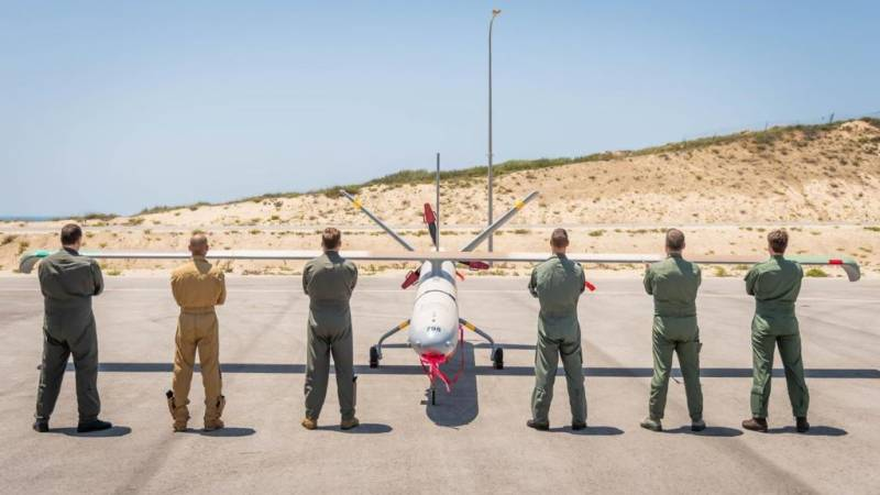 Israel wraps up drone exercise with US, European forces