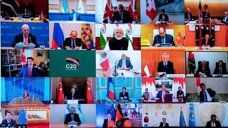 G20 ministers sign deal but stuck on global warming caps