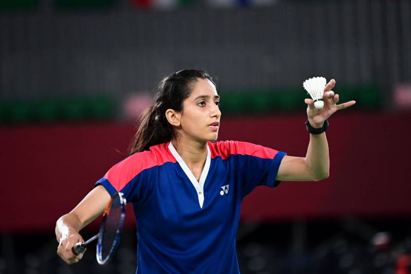 Mahoor Shahzad loses her first Olympic contest in just 23 minutes
