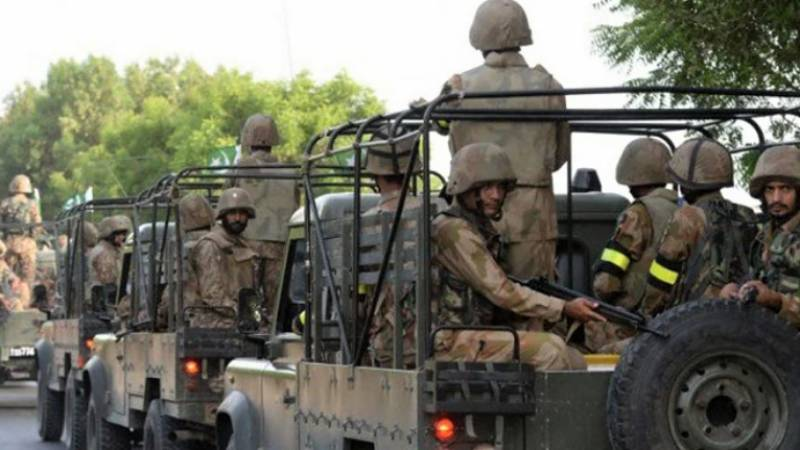 Four soldiers embrace martyrdom in AJK road accident