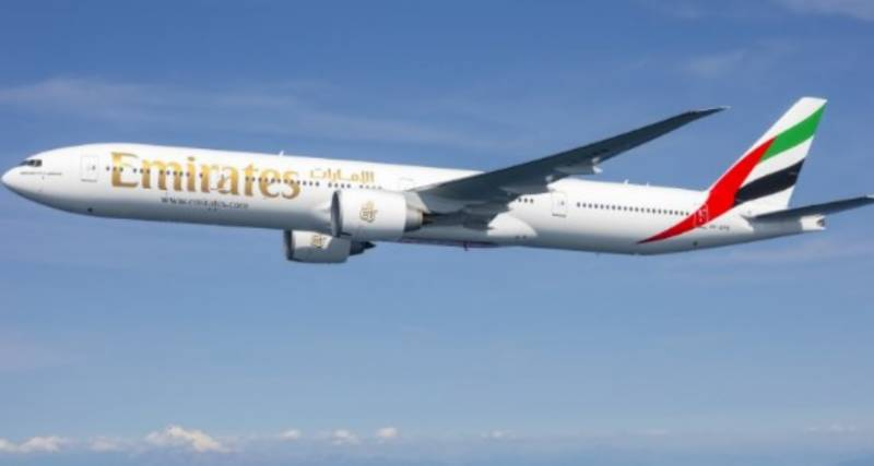 Emirates Airline extends ban on flights from Pakistan, India