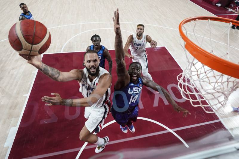 USA lose first men's Olympic basketball game since 2004