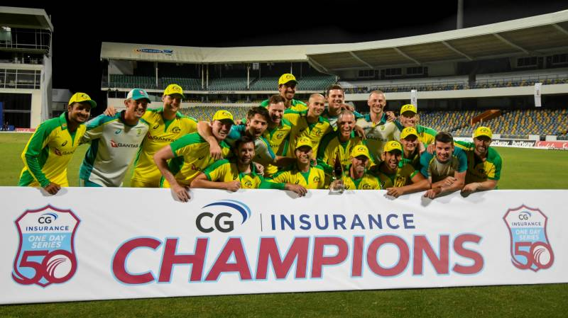 Aussie bowlers shine in ODI series win over West Indies