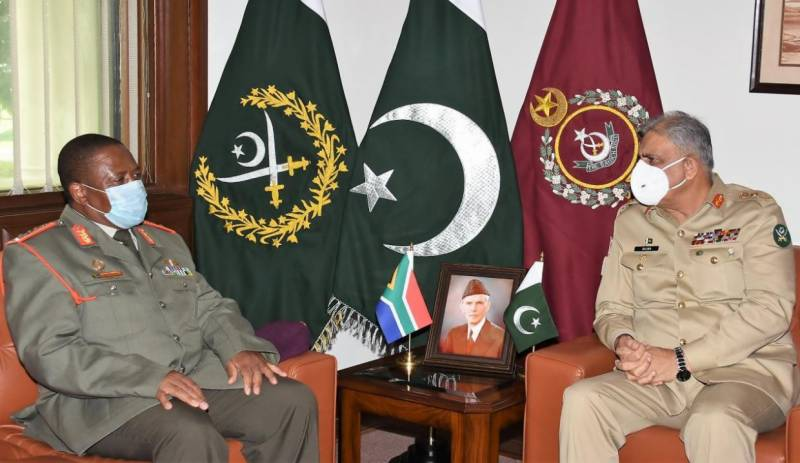 Pakistan views South Africa as key country in African continent: COAS
