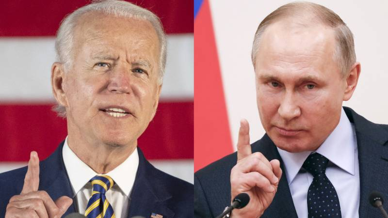 Biden accuses Russia trying to disrupt 2022 elections
