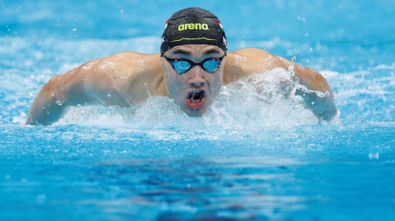 Torn trunks drama as Hungary's Milak wins 200m butterfly gold