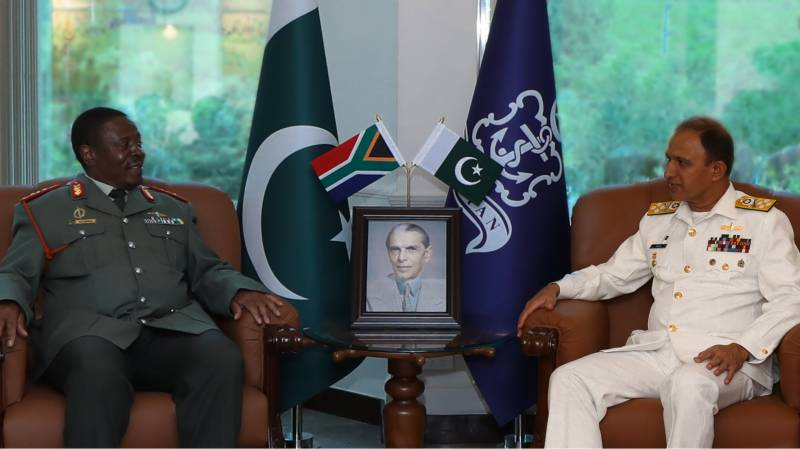 Chief of South African National Defence Force called on Chief of the Naval Staff