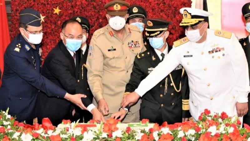 COAS greets Chinese People's Liberation Army on 94th founding anniversary