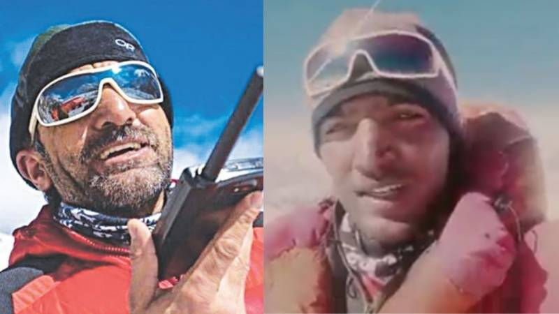 """""""Rest in K2 forever"""", climber Muhammad Ali Sadpara's son buries his father"""