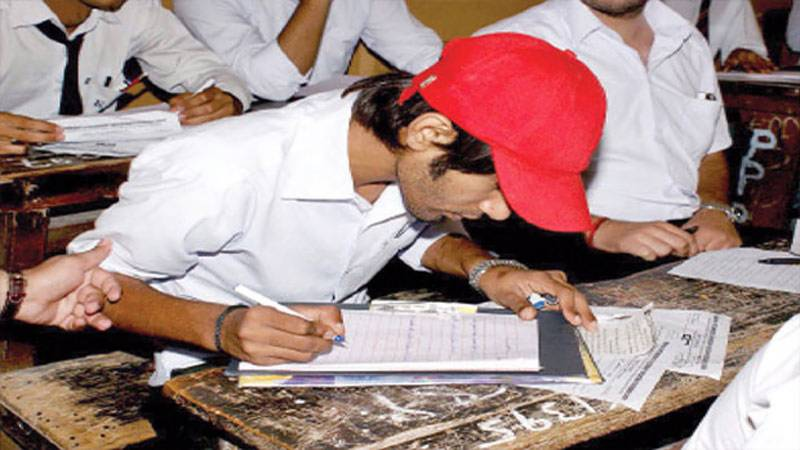 Tradition of cheating kept alive in Sindh inter exam
