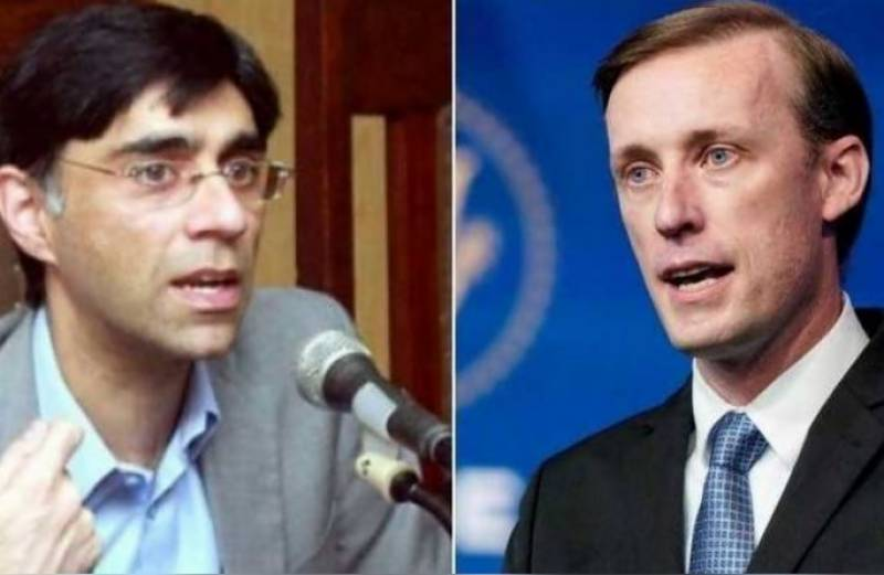 Pakistan, US NSAs discuss ways to reduce violence in Afghanistan