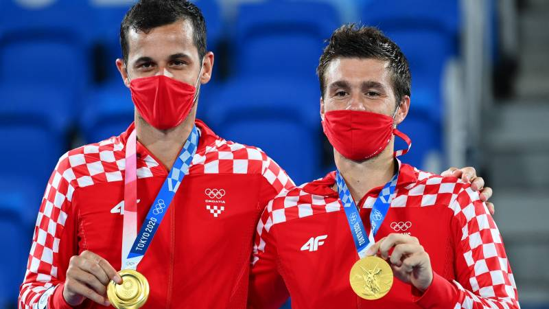 Mektic and Pavic win all-Croatian final to take doubles gold