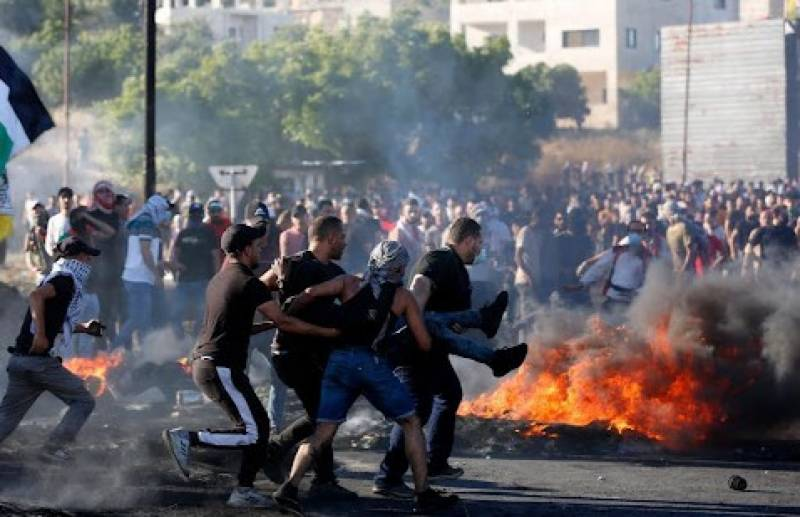 More than 250 Palestinians injured in West Bank clashes