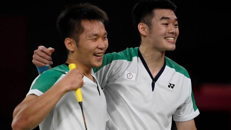 Childhood friends give Taiwan first Olympic badminton medal