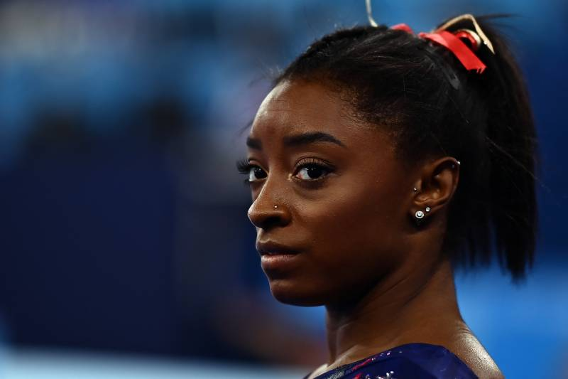 US gymnast Biles out of two more Olympic finals