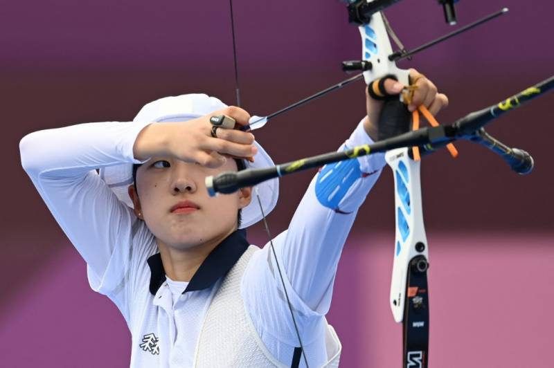 South Korea's record-breaking Olympic archer fought sexism from day one