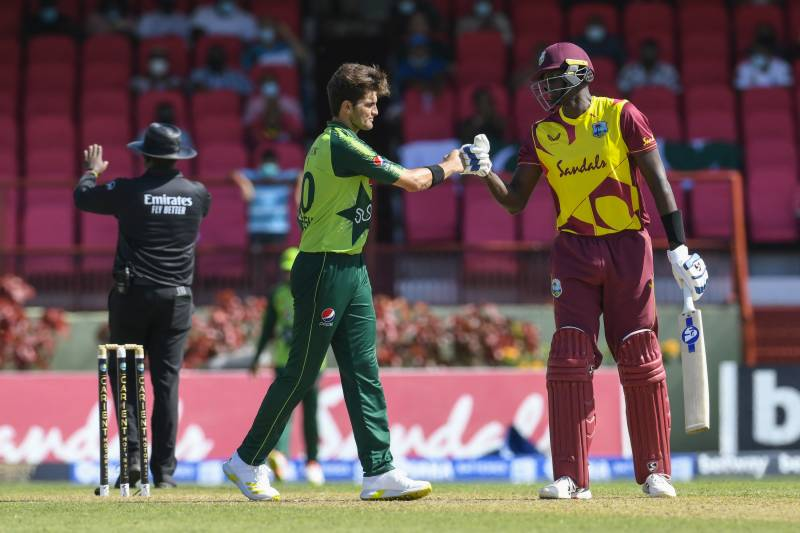 Pakistan, West Indies clash in third T20I today at 8pm