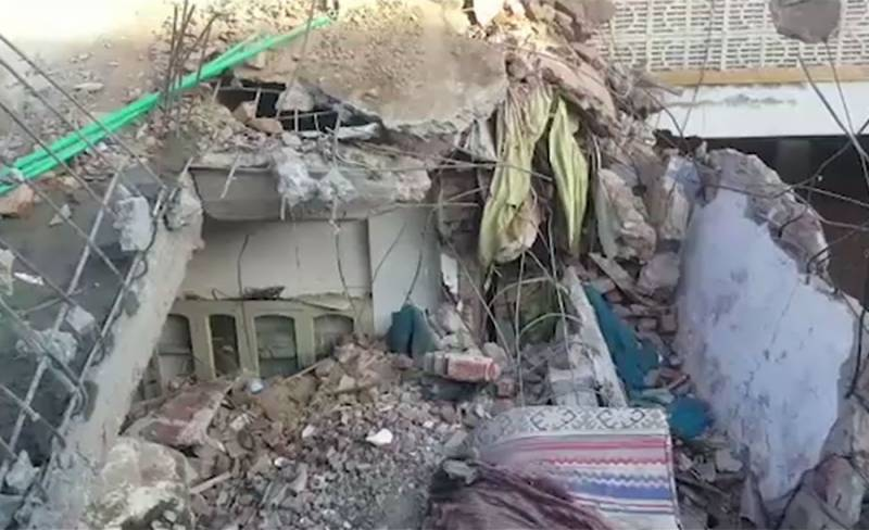 Four die in Faisalabad roof collapse