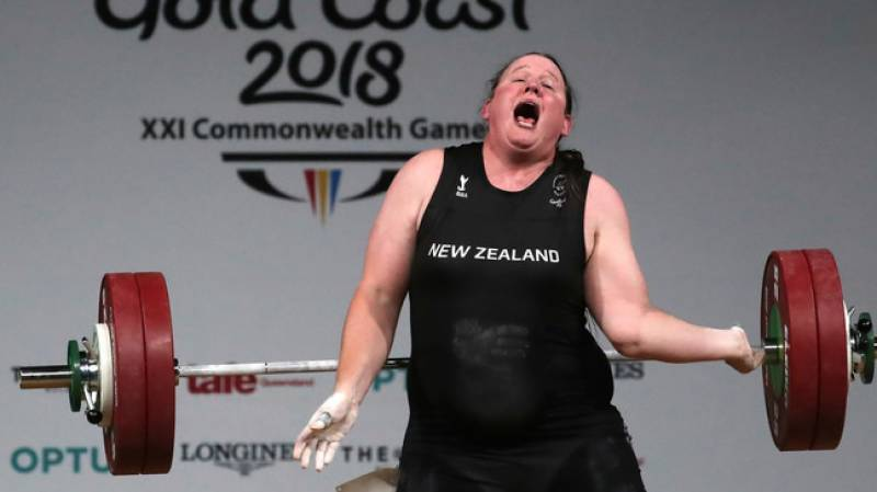 Transgender weightlifter Hubbard out of Olympic final