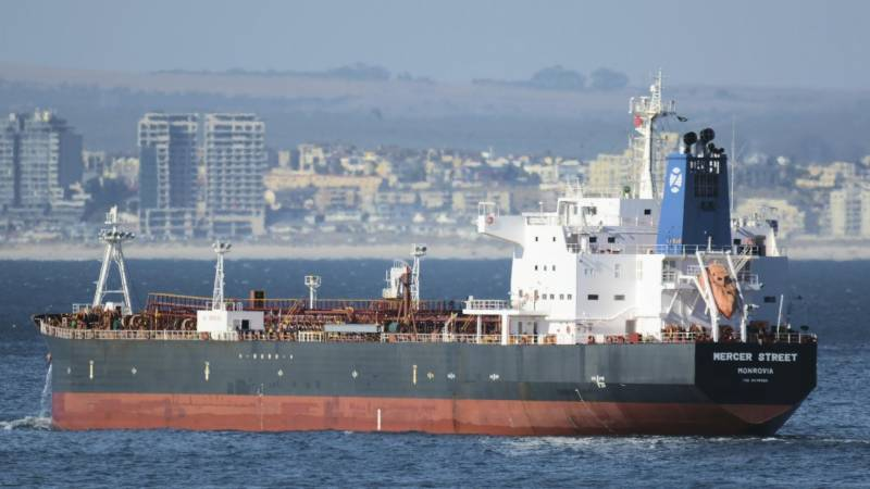 Tanker attacked off Oman arrives at UAE anchorage