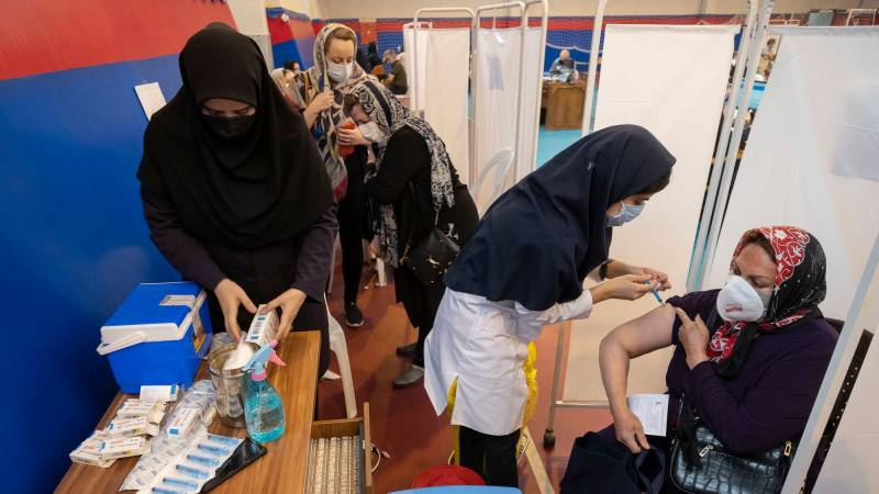 Iran Covid infections hit new daily high