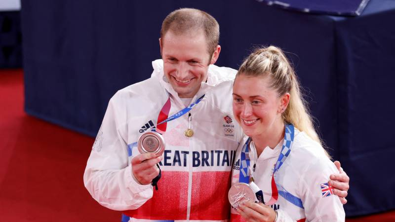 'Harder every time' - British cycling's golden couple settle for Olympic silver