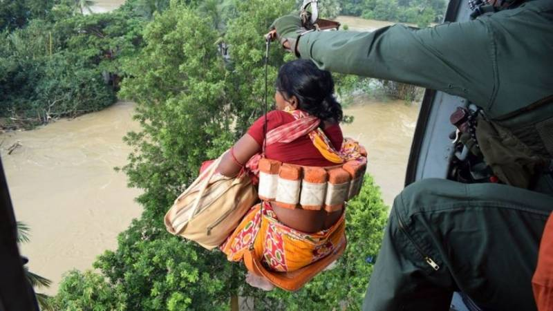 Sixteen more killed, dozens rescued in India's monsoon deluge