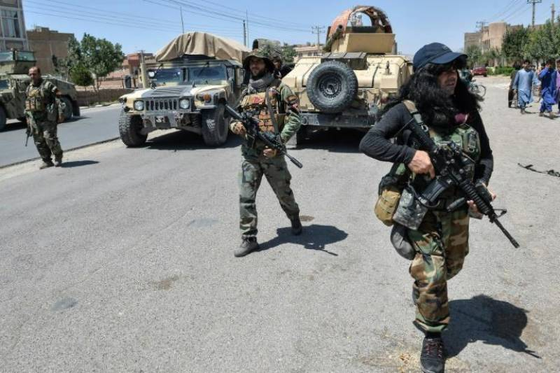 Afghanistan's elite special forces pushed to the brink