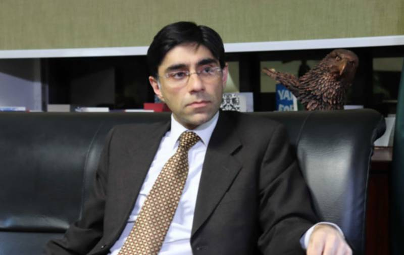 Moeed complains of Biden's failure to contact Imran